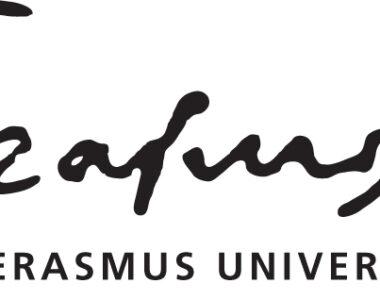 Logo Erasmus Universiteit Rotterdam ZWART